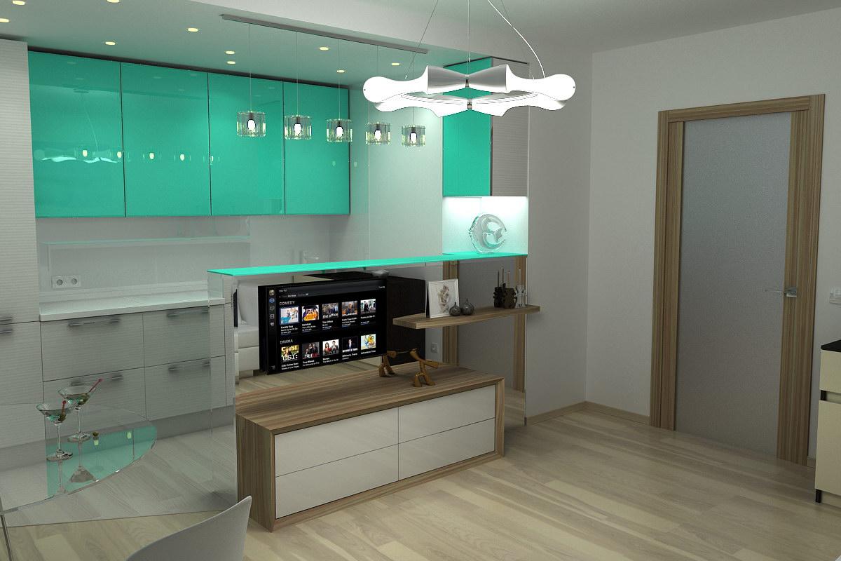 3D візуалізація - Кухня