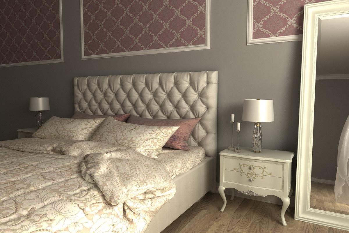 3D візуалізація - Спальня